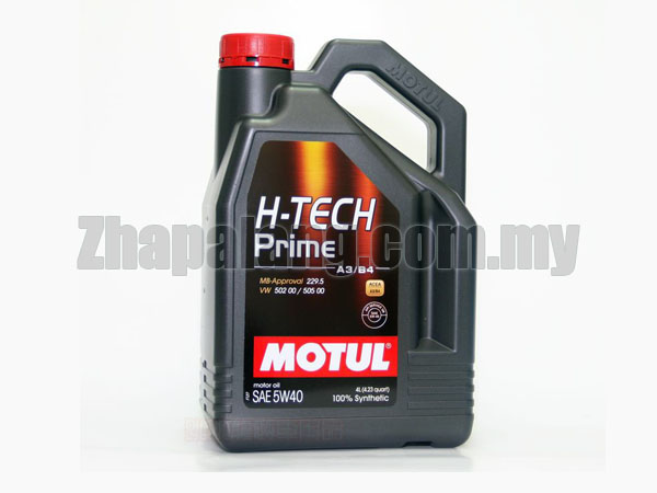 Motul H-Tech Prime 5W-40 Fully Synthetic 4L