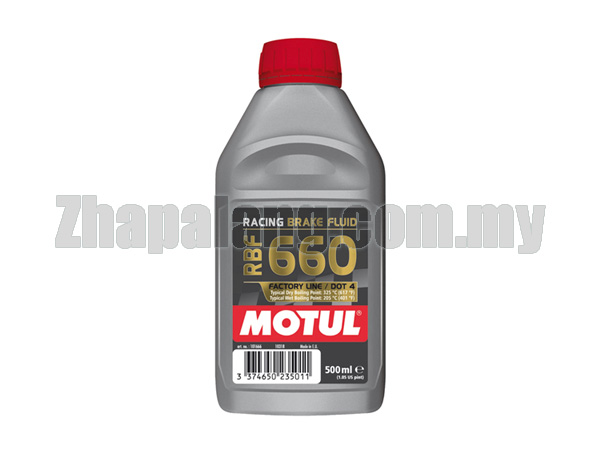 Motul RBF660 Factory Line Racing Brake Fluid