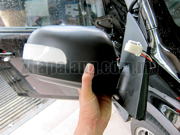 Multi Top OEM Perodua Myvi Side Mirror Auto 5 Wire RH