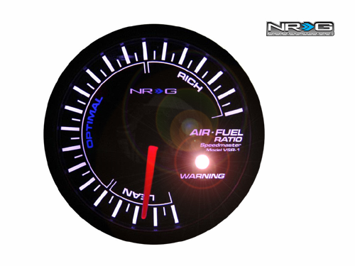 NRG Air Fuel Ratio 60mm Meter Gauge