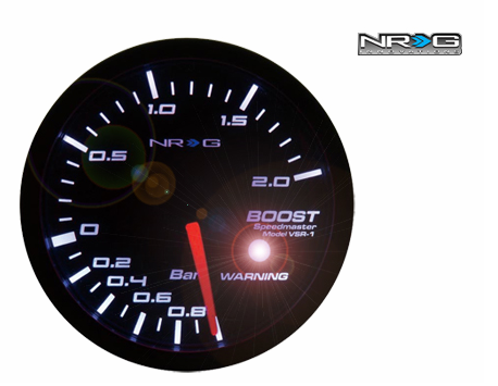 NRG Boost 60mm Meter Gauge