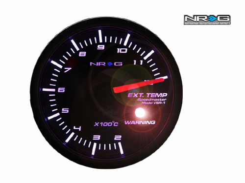 NRG Exhaust Temperature 60mm Meter Gauge