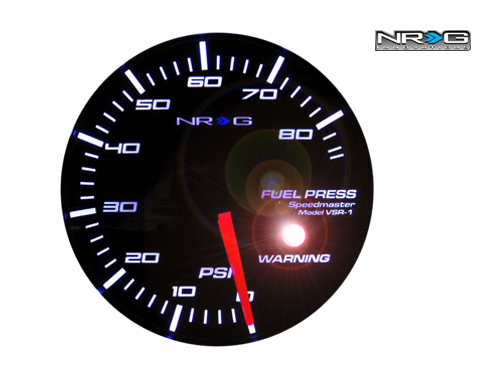 NRG Fuel Pressure 60mm Meter Gauge