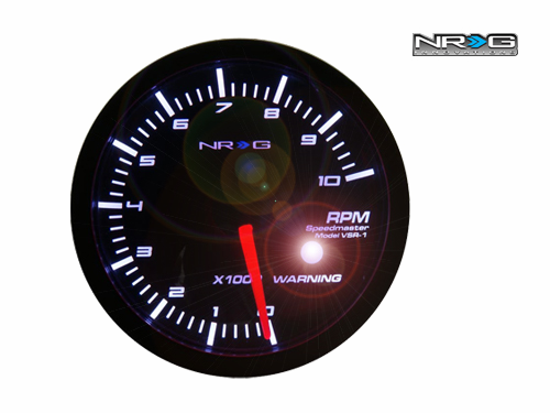 NRG RPM(Tachometer) 60mm Meter Gauge