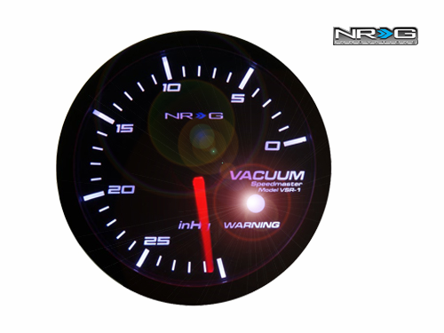 NRG Vacuum 60mm Meter Gauge