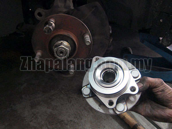 CSP Rear Wheel Bearing Hub Assembly for Myvi