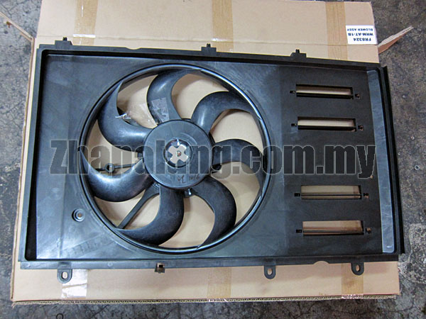 Original APM Radiator Fan Motor,  Fan Blade and Housing Panel Proton Gen2 AT(2 Pin)