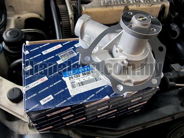 Original Hyundai Sonata 5 Water Pump Assy