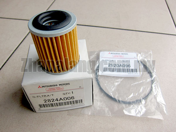 Original Mitsubishi CVT Filter and O'Ring(2924A006 + 2920A096) for Lancer GT/ASX/Sportback/Outlander