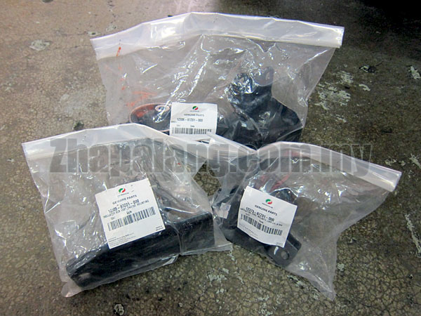 Genuine Perodua Kancil Manual Engine Mounting Set - Image 2