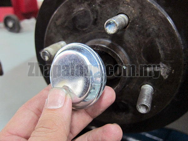 Original Proton Saga BLM Rear Brake Hub Dust Grease Cap Cover