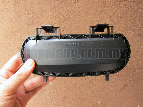 Original Proton Satria Neo Head Lamp Back Cover - Image 1