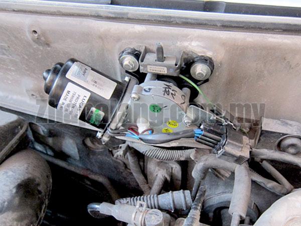 Original Proton Waja Front Wiper Motor Assy - Image 3