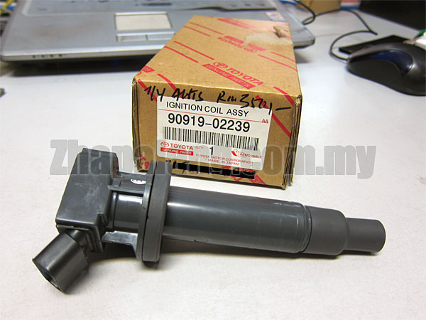 Original Toyota Altis/Rav4 1ZZ-FE DOHC 1.8CC Ignition Coil