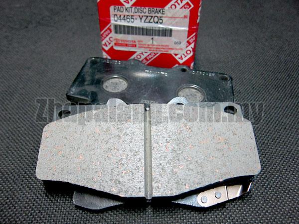 Original Toyota Fortuner Front Brake Pad