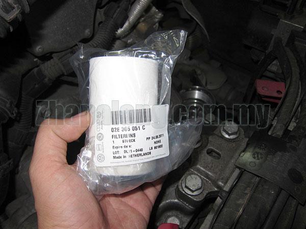 Genuine Volkswagen/Audi/Skoda/Seat 02E(DQ250) DSG Transmission Filter - 02E305051C, N91084501