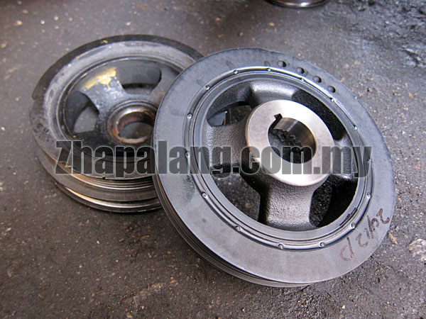 Original Crank Pulley for Proton Wira 1.6