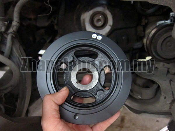 OEM Crank Pulley for Hyundai Sonata NF