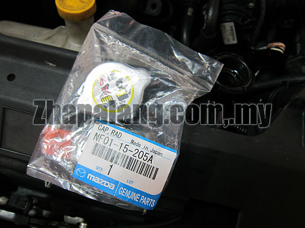 Original Mazda Radiator Cap 127kpa 1.3kg/cm