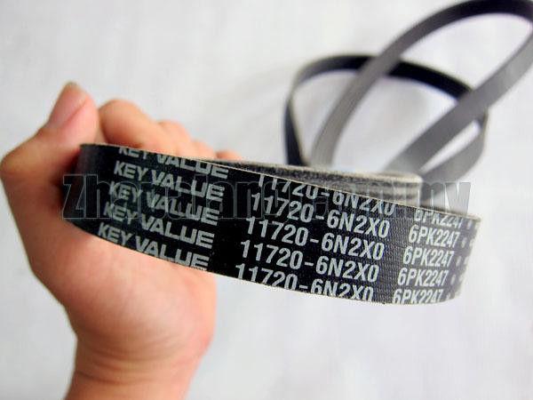 Original Nissan Drive Belt 6PK2247 for QR20DE/QR25DE 11720-6N2X0 - Image 3