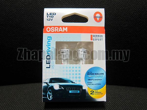 Original OSRAM LEDriving 4090 T10 12V 6700K(Sky White)