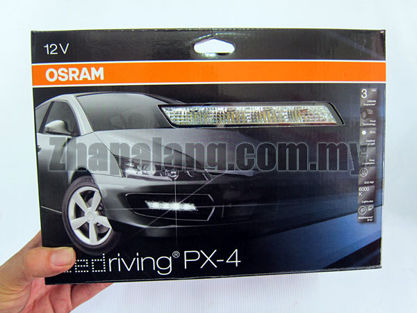Osram LEDriving PX-4 - daytime running light for the design-conscious driver