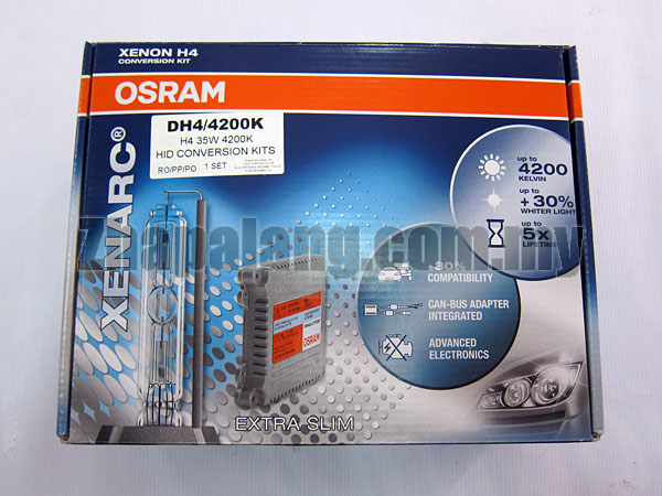 OSRAM XENARC® HID Conversion Kit 35W 12V 4200K H11 - Image 1