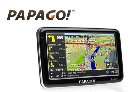 PAPAGO! R6300T GPS Navigator