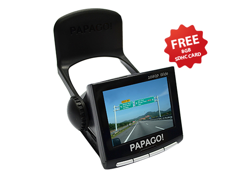 Papago! P1W Full HD Driving Recorder