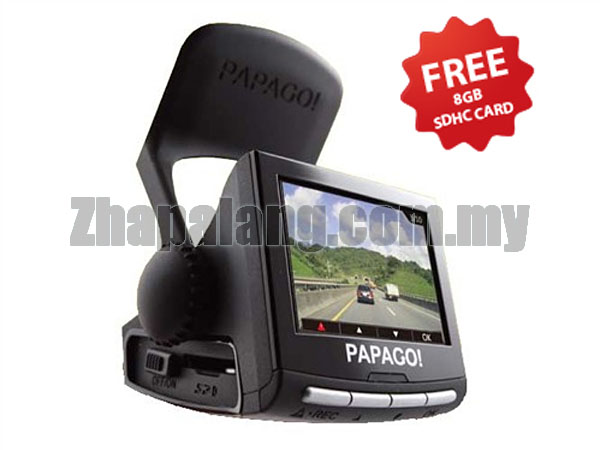 Papago! P2 Pro Full HD Driving Recorder