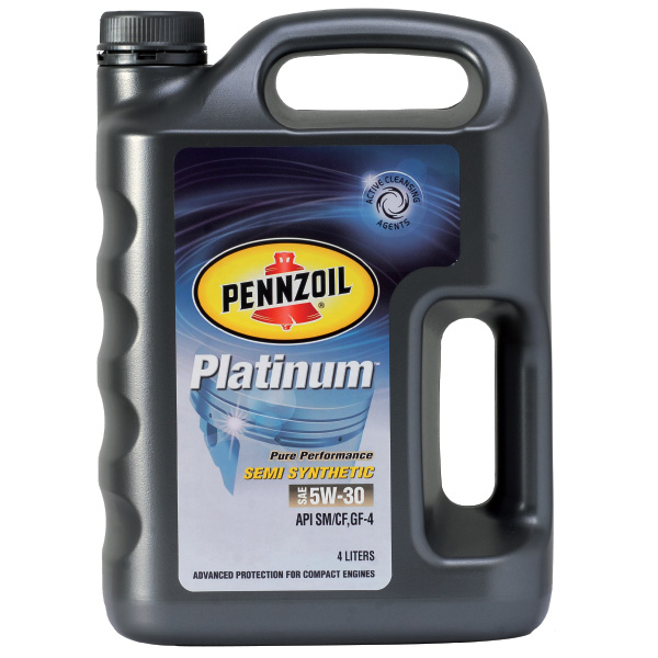 Pennzoil Platinum Semi Synthetic SAE 5W-30
