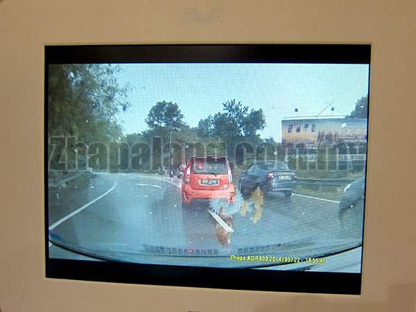 [Limited Offer]Philips ADR Automotive Driving Recorder HD 720p(Come with 8GB class 10 Mini SD) - Image 7