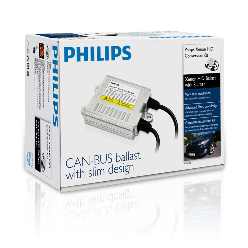 Philips Advanced Can-Bus HID Ballast (Xendrive XLD CK G4)