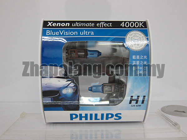 Philips BlueVision Ultra 4000K H1
