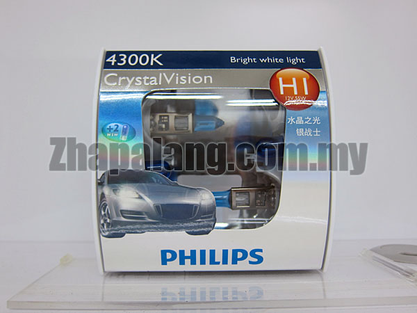 Philips CrystalVision 43000K H1(FOC W5W)