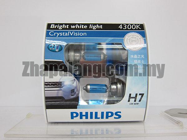 Philips CrystalVision 43000K H7(FOC W5W)