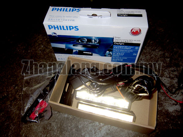 Philips LED Daytime Running Light (DRL) 4 LED Daylight - Tiger White / 12V