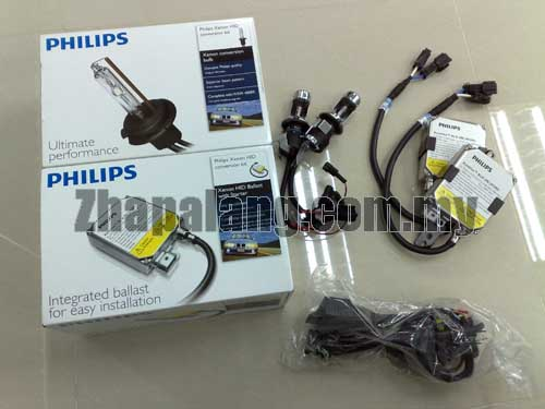 Philips HID Conversion Kit (Bulb + Ballast) 4200K H1