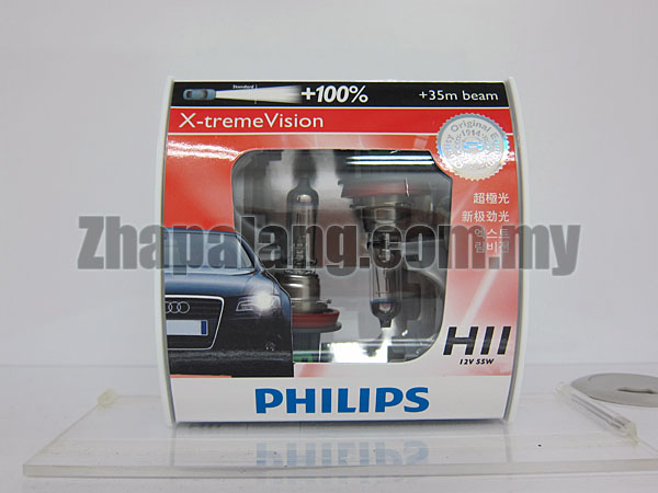 Philips X-tremeVision +100% H11