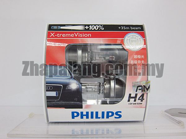 Philips X-tremeVision +100% H4