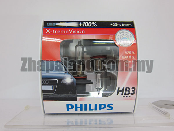 Philips X-tremeVision +100% HB3 9005