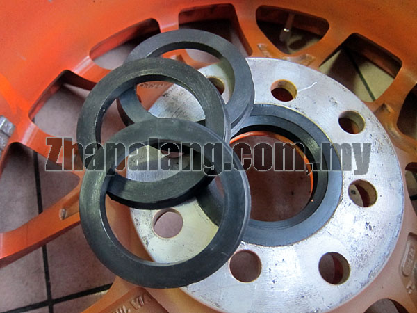 Plastic Wheel Hub Center Cone Rings 54mm-73.1mm