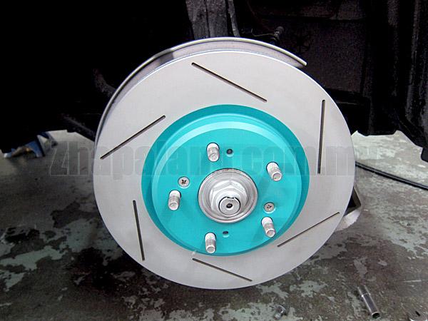 Project Mu CRD High Performance Disc Rotor Honda Odyssey RB1/2/3
