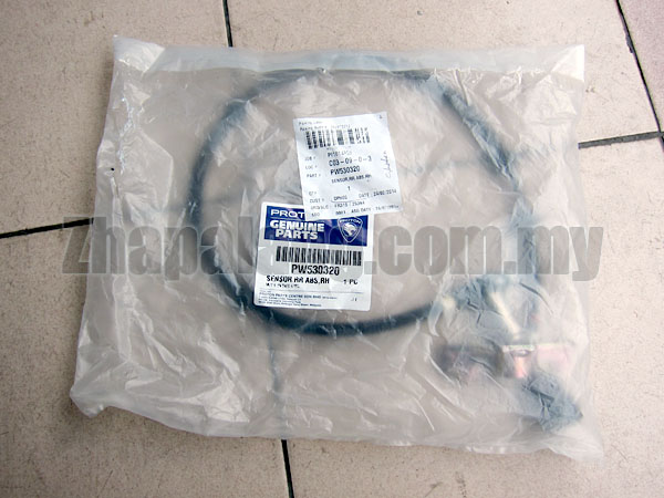 Original Proton Satria GTi 1.8 ABS Wheel Speed Sensor - Rear Right