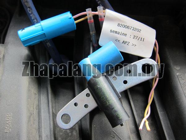 Proton Savvy(Renault) Crank Position Sensor c/w Adapter