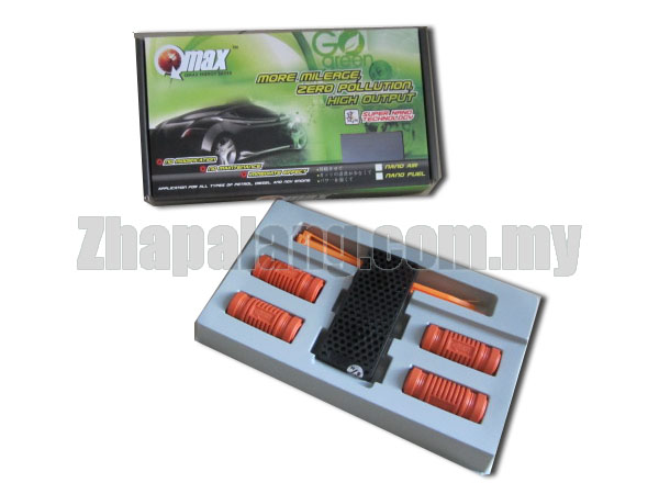 Qmax Green X Package(4 Nano Fuel & 1 Nano Air)