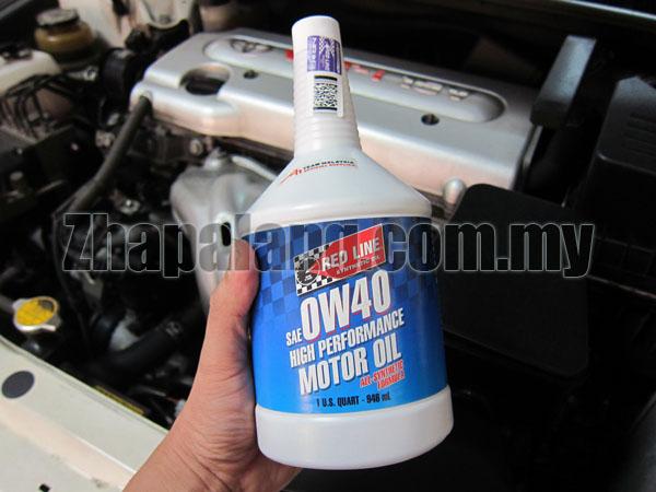 Redline 0W40 Motor Oil 1Qt