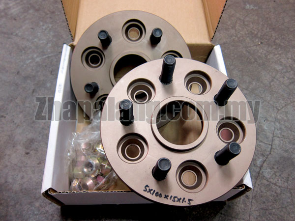 Redline High Quality Wheel Spacers PCD5x100x15mmx1.5mm