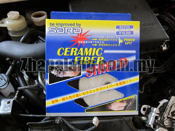SARD Exhaust Ceramic Thermal Wrap