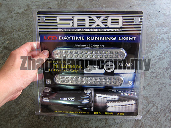 Saxo LED Daytime Running Light 6000K SK-042